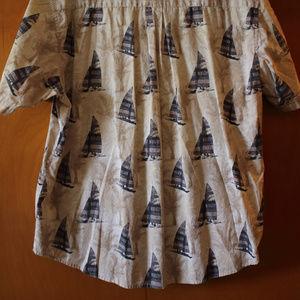 NATURAL ISSUE Shirts - EUC NATURAL ISSUE CASUAL BUTTON DOWN MENS SHIRT/XL